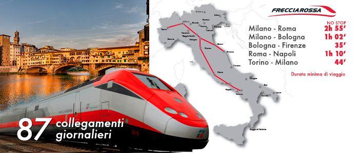 High speed italian trains freccia and italo for travel in - Treno firenze parigi vagone letto ...