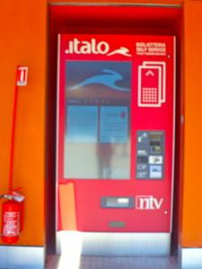 High speed Italian train Italo