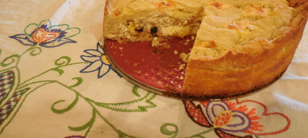 Easter Cheesecake: Sicilian Sweet Ricotta Farro Pie