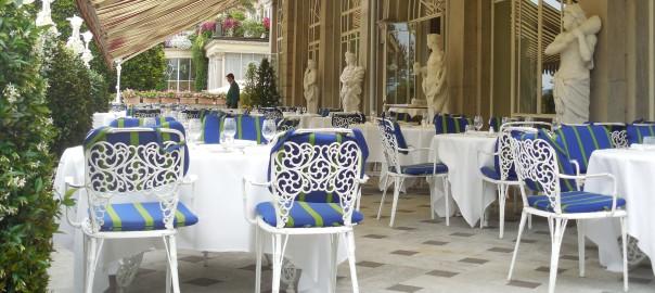 Grand Hotel Isles des Borromees in Stresa on Lago Maggiore, Italy