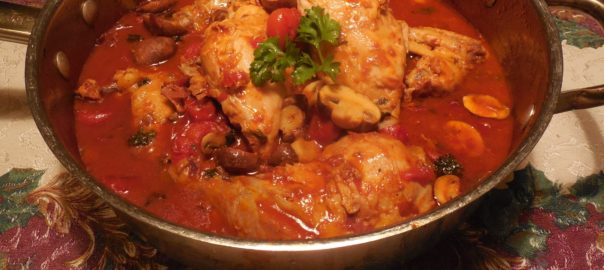Chicken in Marsala Wine Italian Style