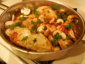 Chicken in Marsala Wine