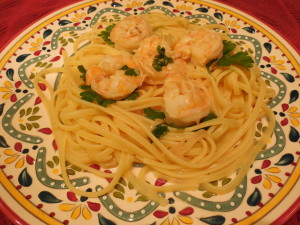 Italian-American Recipe Shrimp Recipe - Scampi
