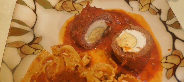 Italian Sunday Dinner - Braciole and Pasta