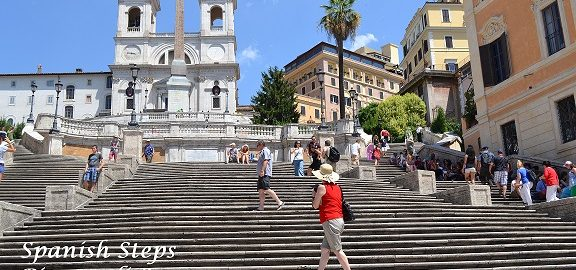 Italy and the Spanish steps