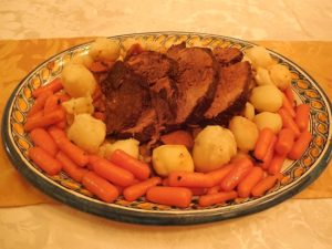 Sliced Italian pot roast