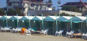 Ferragosto in Venice Italy, Lido Beach