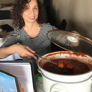 CIAP 1st Annual Meatball Fest September 2018 attended by author Kathryn Occhipinti